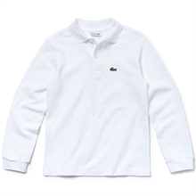 Lacoste Polo Tee L/S Blanc