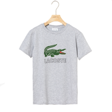 Lacoste Croco T-Shirt Argent Chine