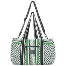 lala-berlin-big-bag-muriel-kufiya-shadow-jellybean-groen-green-taske-tote