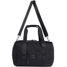 lala-berlin-big-bag-taske-stor-monogram-blavk-muriel