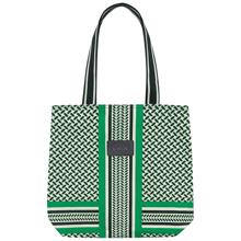 lala-berlin-caramela-colored-kufiya-shadow-jellybean-green-groen-taske-tote