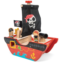 Le Toy Van Little Capt'n Pirate Boat