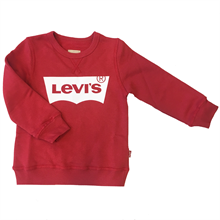 levis-sweat-sweatshirt-red-roed-bat-logo-bluse-blouse
