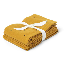 lieweood-muslin-cloths-stofbleer-mustard-gul-yellow