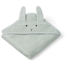 Liewood Albert Babyhåndklæde Rabbit Dusty Mint