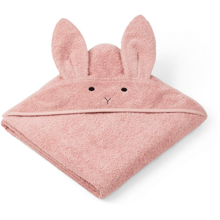 liewood-augusta-towel-haandklaede-hooded-rabbit-rose