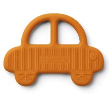 liewood-bidering-teether-bide-baby-bil-car-mustard