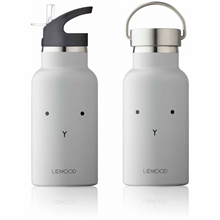 liewood-bottle-drinking-water-bottle-flaske-vandflaske-anker-rabbit-dumbo-grey-graa