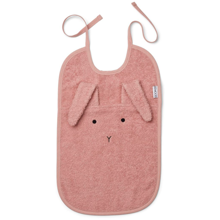 liewood-theo-terry-bib-hagesmaek-towel-rabbit-rose