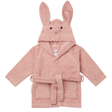liewood-towel-badekaabe-bathrobe-rose-rabbit-kanin-1