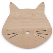 Liewood Troy Wooden Lampe Cat Natural
