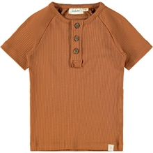 lil-atelier-tee-shirt-knapper-buttons-partridge-roed-brun-red-brown-boy-girl-unisex-l.