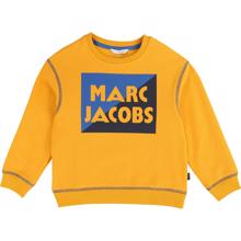 little-marc-jacobs-bluse-sweat-sweatshirt-yellow-gylden-wicker-gold-boy-dreng