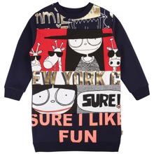 little-marc-jacobs-dress-sweat-kjole-navy-print-blue-W12285-849-1