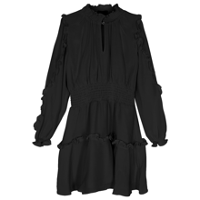 Little Remix Nini Smock Dress Black