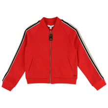 littlemarcjacobs-cardigan-troeje-sweat-red-roed-zipper-lynlaas