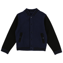 littlemarcjacobs-jacket-troeje-cardigang-strik-knit-blue-black-baseballjacket-1
