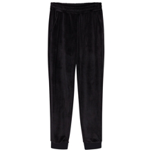 littleremix-bukser-pants-velour-black-sort