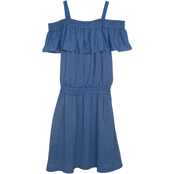 littleremix-little-remix-kjole-dress-strap-denim-blue