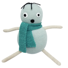 luckyboysunday-popmint-dukke-bamse-strik-knit-mint-groen-green