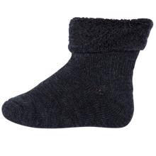 MP 722 Wool Socks Terry 497 Dark Grey