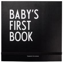 Design Letters Baby First Book (black)