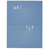 Design Letters Message Board (blue)