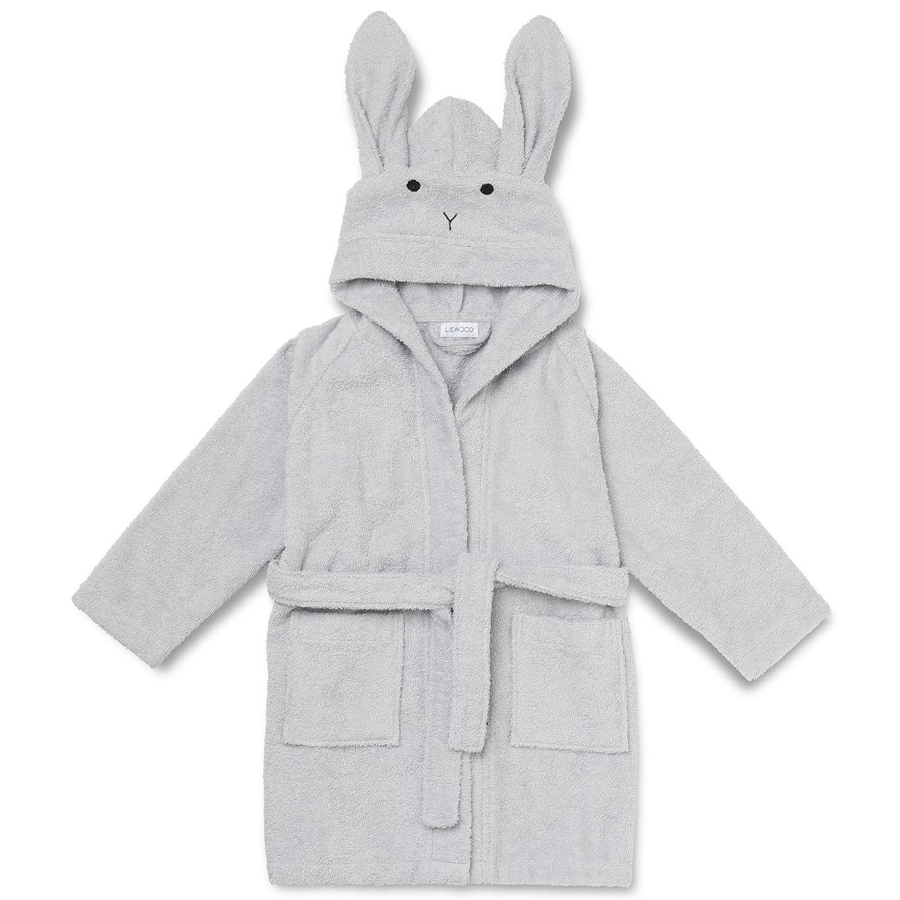 257bb9dc23b Liewood Lily Badekåbe Rabbit Dumbo Grey