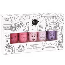 Nailmatic Neglelak Vandbaseret 5 Pack Party 5 Kitty/Cookie/Bella/Polly/Piglou