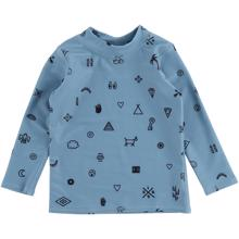 Soft Gallery Smoke Blue Elements Baby Astin Swim Shirt