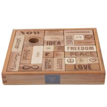 Wooden Story Blocks Peace&Love (29stk.)