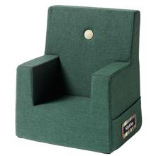 KK Kids Chair Multi deep green w light green buttons