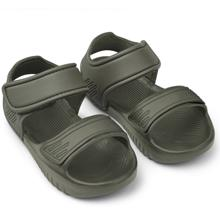 liewood-blumer-sandal-sandals-hunter-greeen-badesandaler