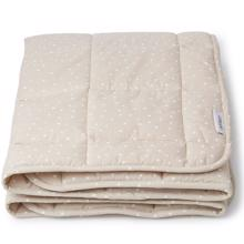 liewood-ebbe-quilted-blanket-taeppe-confetti-beige-vattaeppe