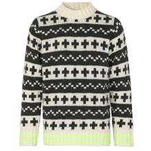 mads-noergaard-reykjavik-keldino-strik-knit-sweatshirt-ecru-forest-night-neon-yellow-120986-3011-1