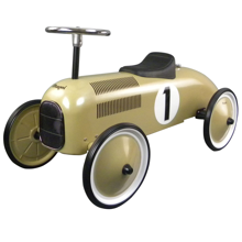 magni-2605-gå-bil-i-messing-farvet-classic-racer-walking-car-messing-colour-boern-kids