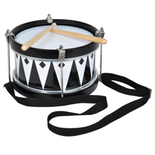 magni-tromme-drum-harlekin-harlequin-black-white-sort-hvid-instrument-musik-music-play-leg-toys