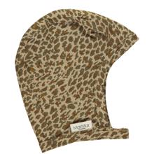 marmar-AW20-hoody-hjelm-hat-babyhue-baby-unisex-leather-leo-leopard-