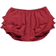 MarMar Red Gold Lurex Poppy Shorts/Bloomers