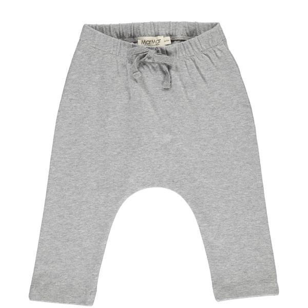 MarMar Grey Melange Jersey Pico Bukser