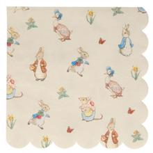 meri-meri-servietter-napkins-peter-rabbit-peterkanin-large