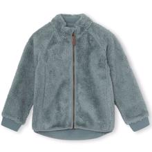 Mini A Ture Cedric Fleece Jakke Trooper Blue