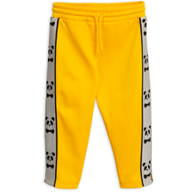 mini-rodini-bukser-pants-panda-yellow-gul-1