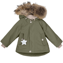 miniature-jacket-jakke-vinterjakke-vinter-winter-overtoej-pels-wally-fur-groen-green-clover-1