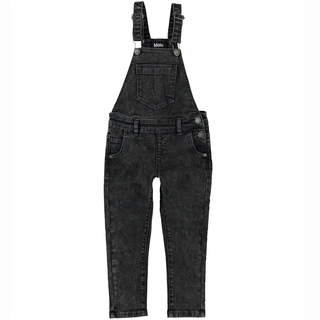 Molo Alike Stone Washed Black Overall