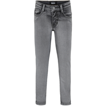 Molo Grey Washed Denim Aksel Woven Pants
