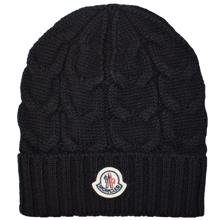 moncler-beanie-black-boy-dreng-girl-boy-kids-hue-hat-knit-strik
