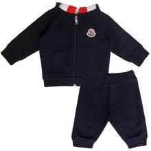 Moncler Completo Maglia Sweatsæt Navy
