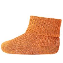 mp-stroemper-socks-bamboo-viscose-burned-orange-lurex-glitter-59014-1422