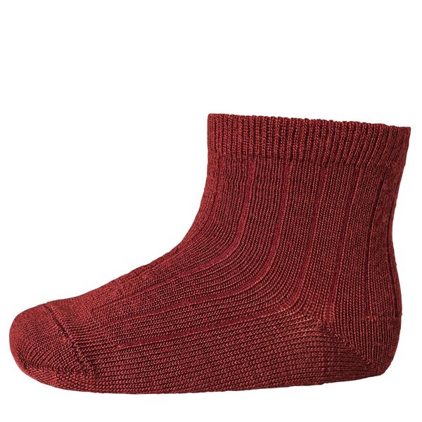 mp-stroemper-socks-wool-uld-bordeaux-red-roed-718-1005